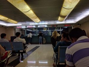 Port Visa Application and Waiting Room